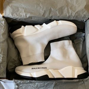 Used once Balenciaga speed sneakers